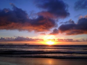 One more spectacular west coast sunset