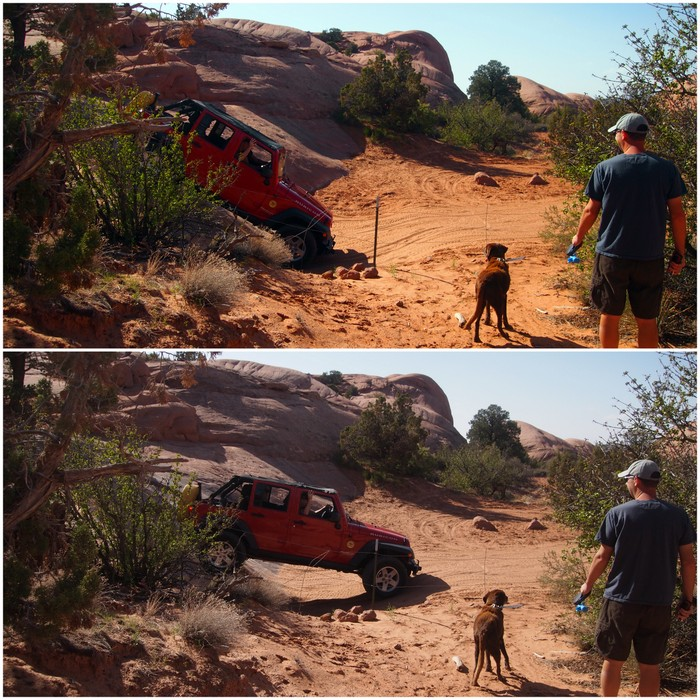 Sad Flats campground moab UT