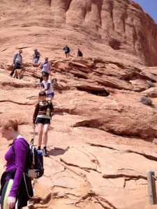 dog friendly hiking in moab