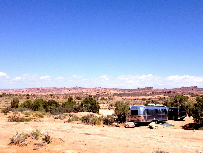 sand flats campground moab UT