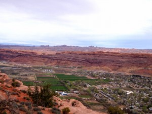 hike dog moab