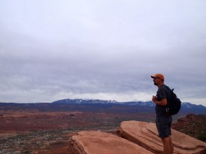 dogs hiking moab