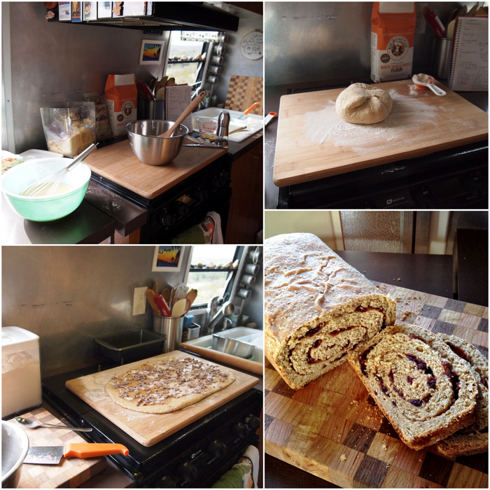 Whole Grain Cinnamon Swirl Bread