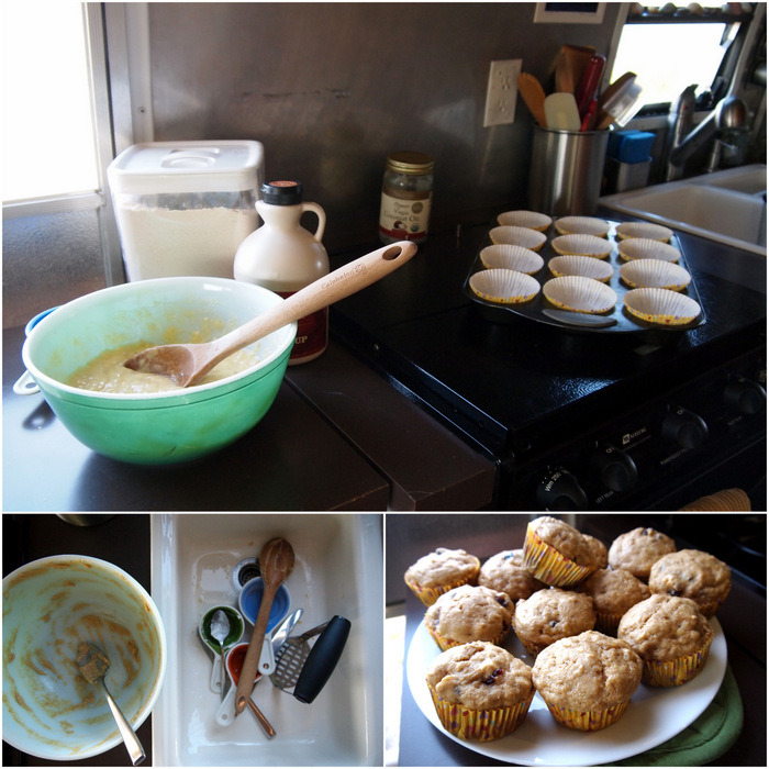Super Simple Banana Muffins