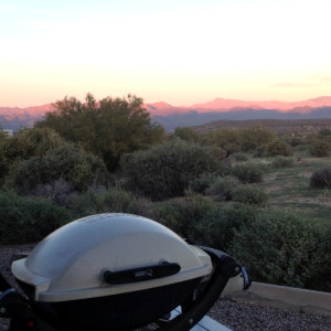The Weber Q in Arizona