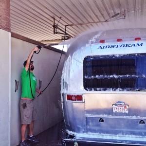 Airstream Wash