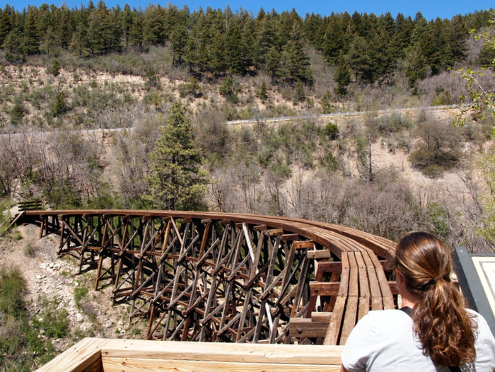 Viewing the Mexican Canyon Trestle