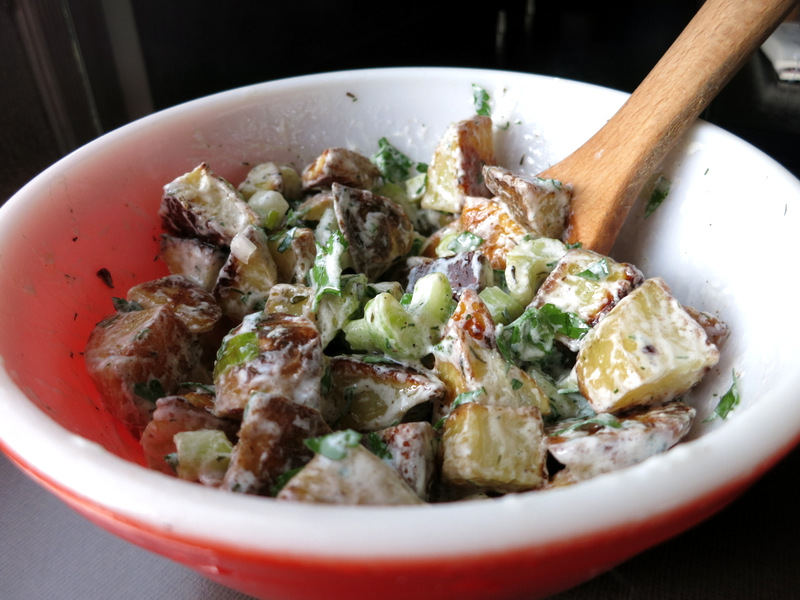 Grilled Lemony Potato Salad