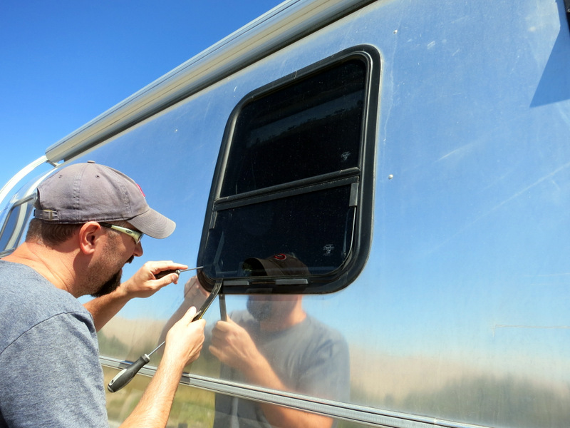 Break in Airstream