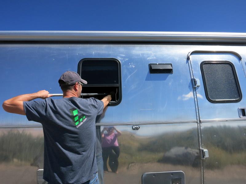 Airstream Break In
