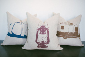 Set of 3 Camping Pillows