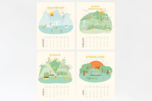 National Park 2015 Calendar