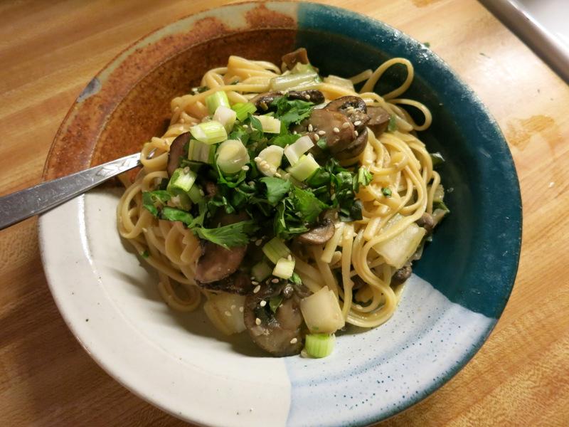 Spicy Noodles & Veggies
