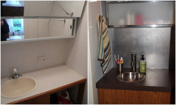 Airstream Update Bathroom Refresh