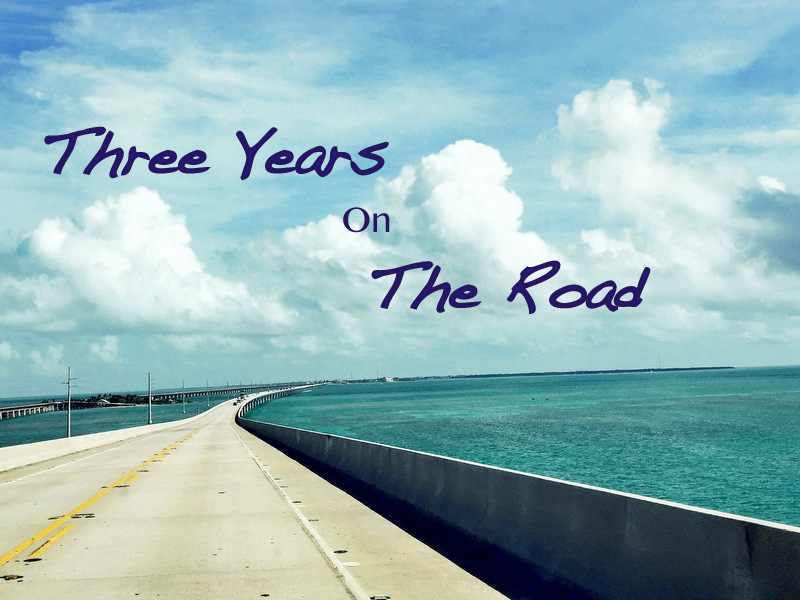 Three Years on The Road
