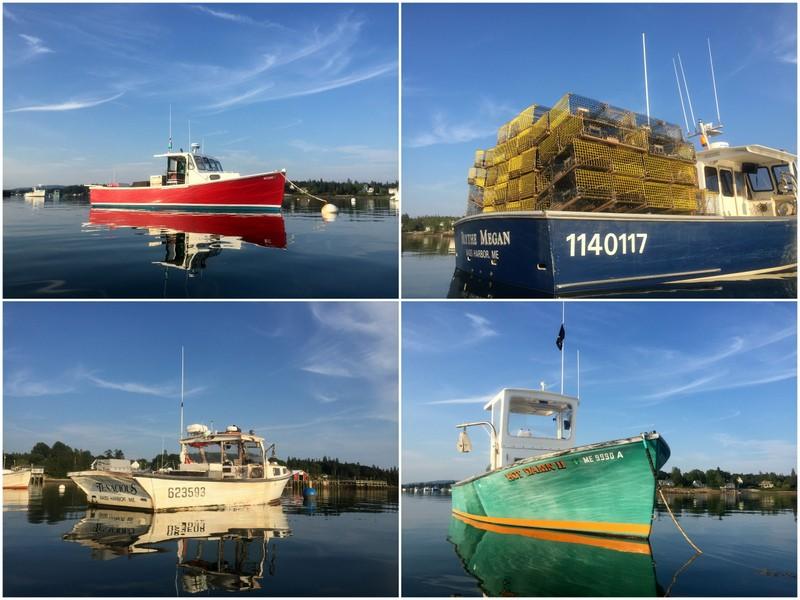 Bass Harbor, ME Fishing Boats