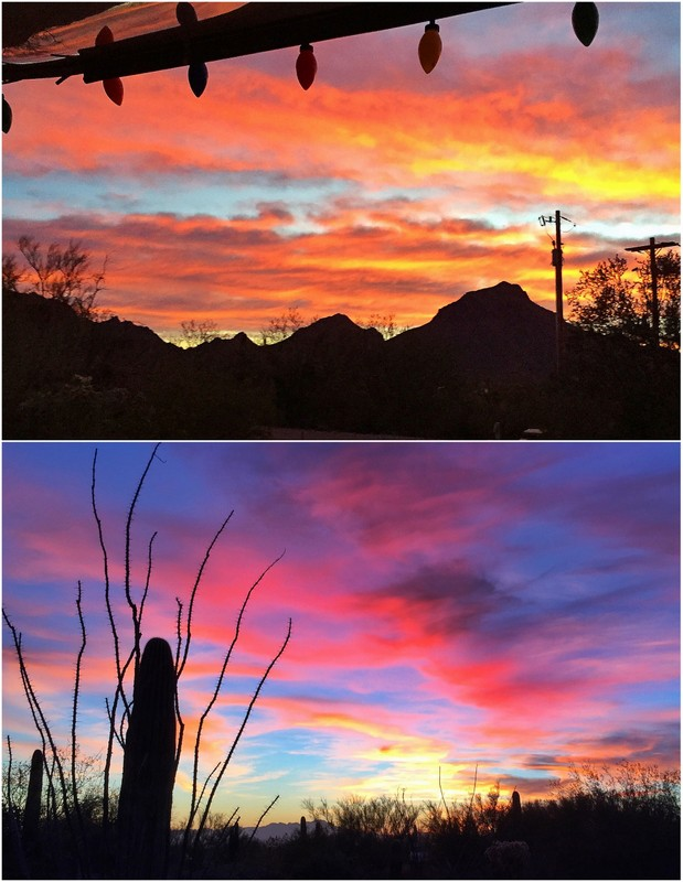Desert Sunrise & Sunset
