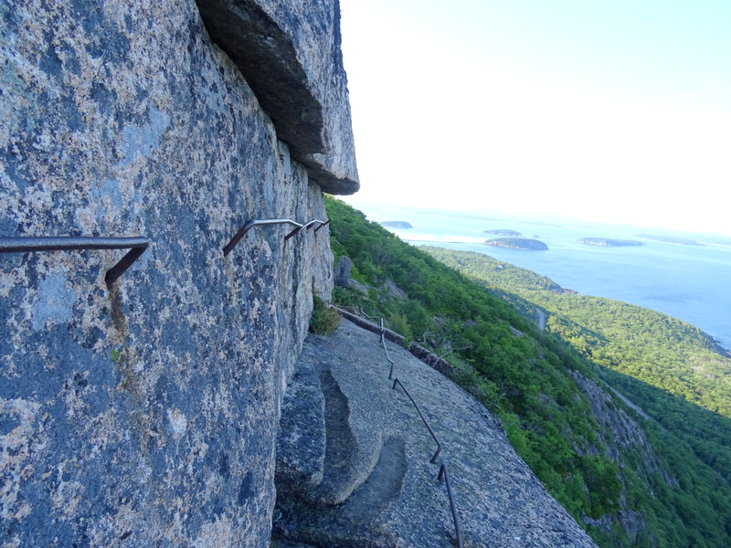 Precipice Trail, Maine