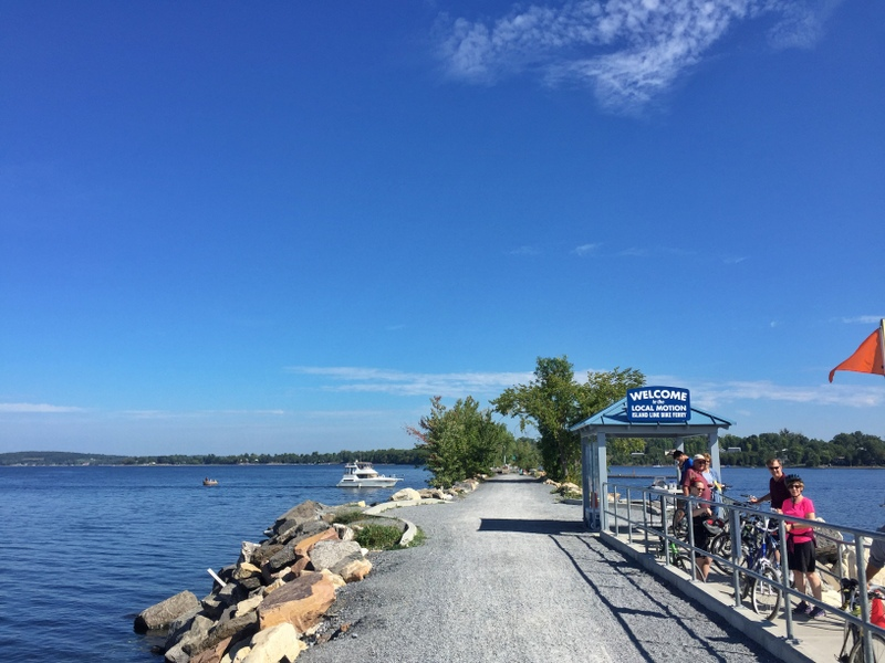 Bike Ferry on Lake Champlain