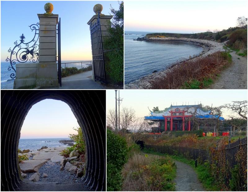 Cliff Walk in Newport, RI
