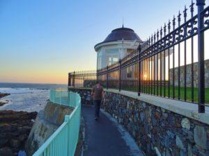The Cliff Walk in Newport, RI