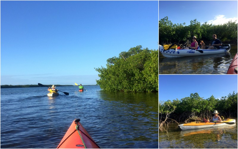 Kayaking off Big Pine Key