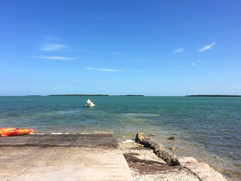 Boat ramp on Cudjoe Key