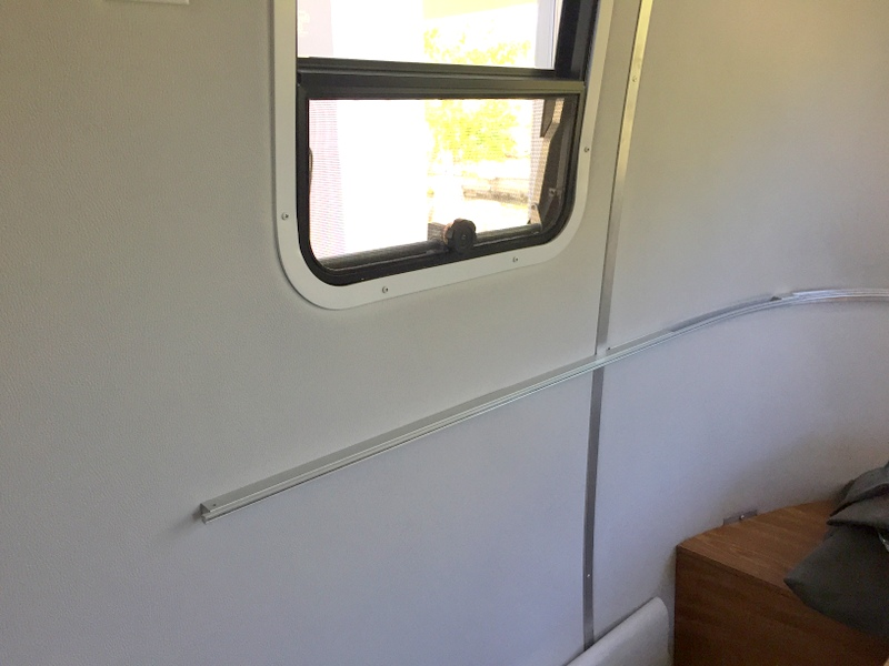 New Airstream walls