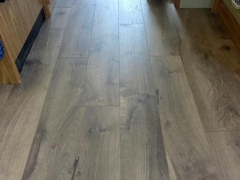 New Pergo Floor