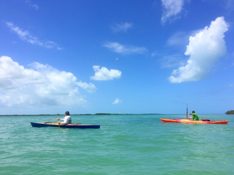 Kayaking the Keys