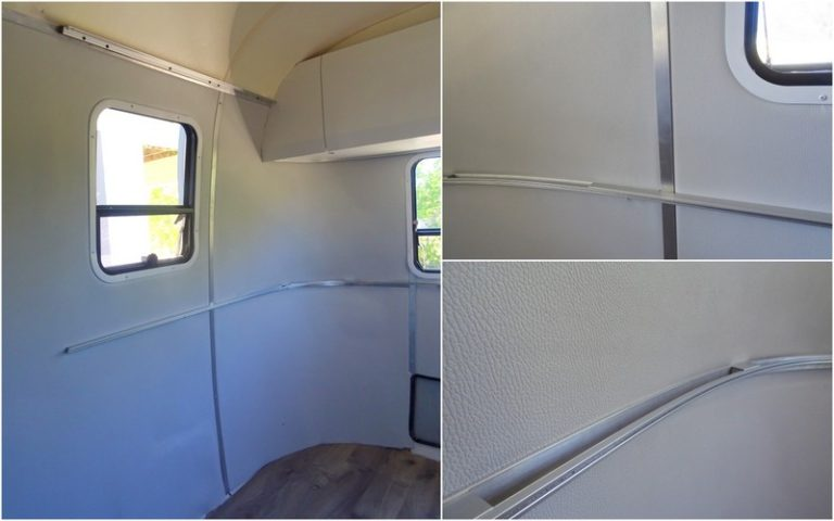 Replacing Airstream mouse fur walls