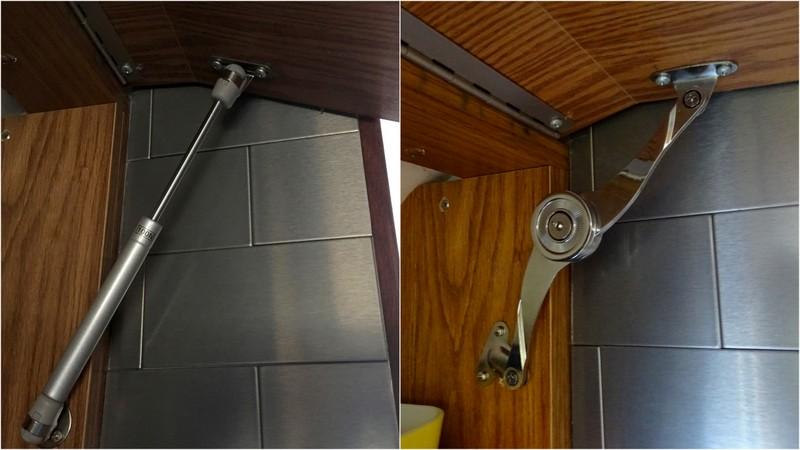 Airstream Cabinet Struts