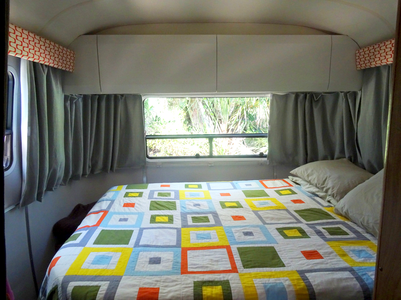 Airstream bedroom