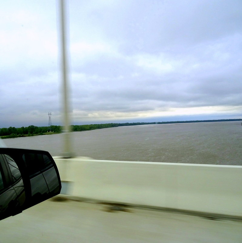 Crossing the Mississippi River