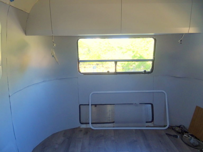 Replace Airstream mouse fur walls