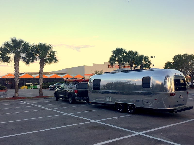 Airstream at Home Depot