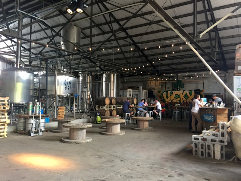 Lucky Town Brewing in Jackson, Mississippi