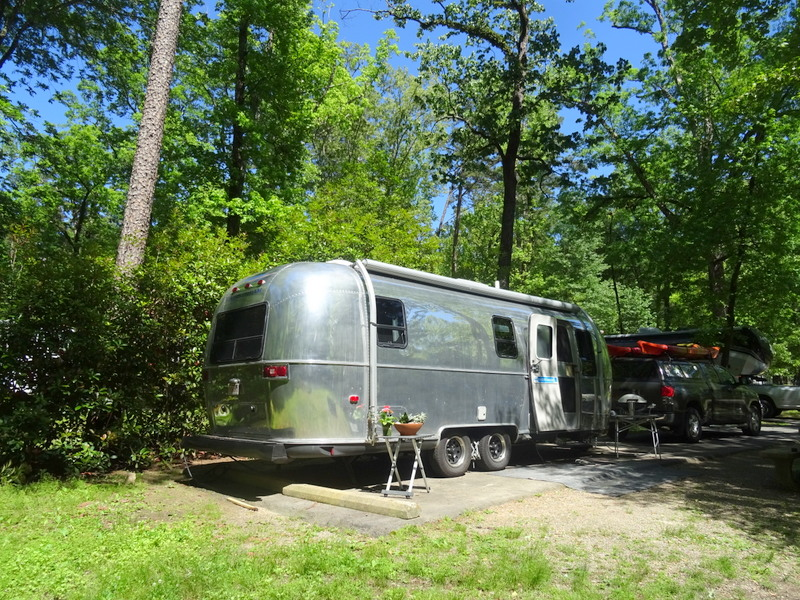 Gulpha Gorge Campground at Hot Springs National Park