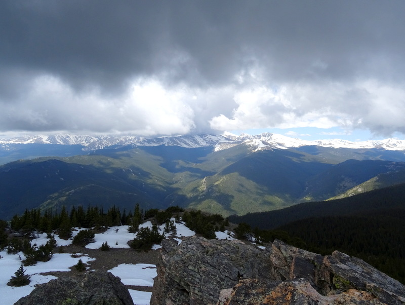 Chief Mountain Trail, CO