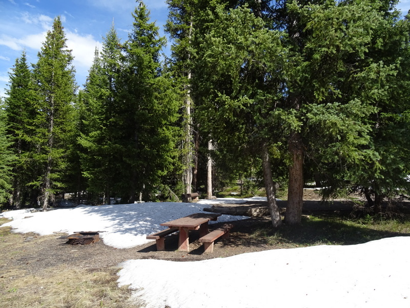 Meadow National Forest Campground