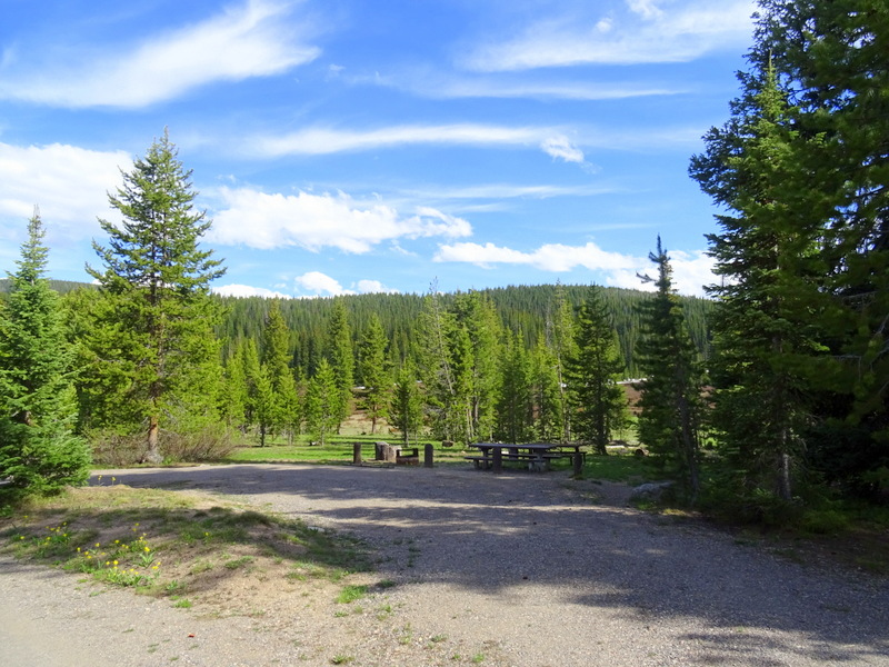 Meadows National Forest Campground