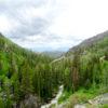 Hiking above Fish Creek Falls