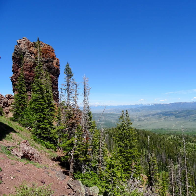 Rabbit Ears Peak Trail, Colorado