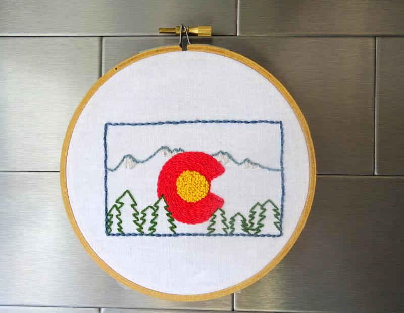 Colorado State Pattern ~ WanderingThreadsEmbroidery.com