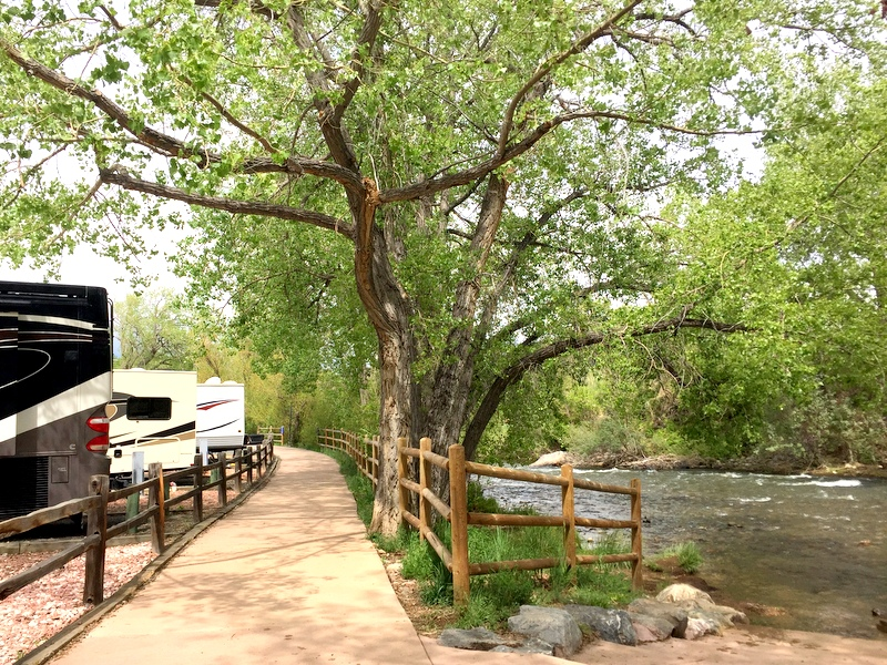 Clear Creek RV Park in Golden, CO