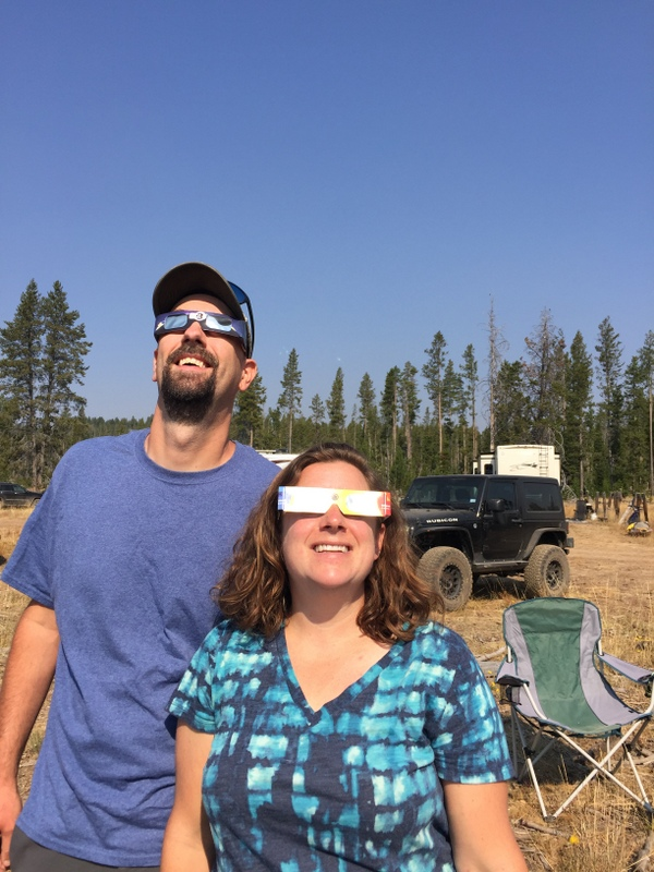 Stanley, Idaho Eclipse