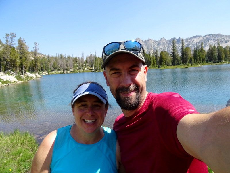 Us at Twin Lakes in Stanley, Idaho