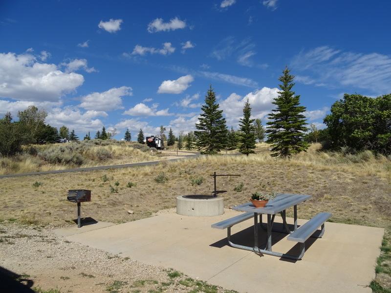 Jordanelle State Park site #44