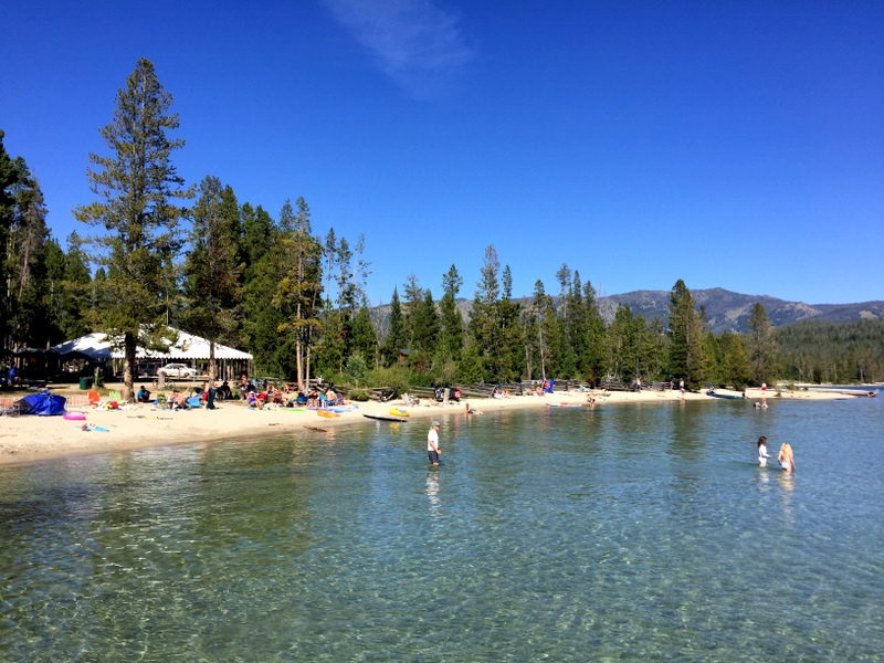 Redfish Lake Lodge Beach - Stanley, Idaho