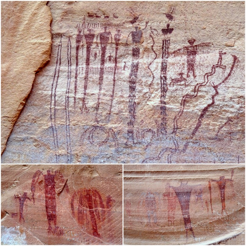 Buckhorn Drawn Pictograph Panel